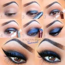 blue and brown perfect for brown eyes