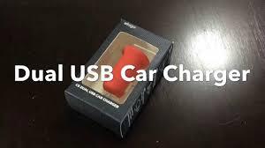 Elago <b>C6 Dual</b> USB <b>Car Charger</b> - YouTube