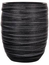 <b>Кашпо Capi</b> nature <b>vase elegant</b> high ii loop black D15 H17 см ...