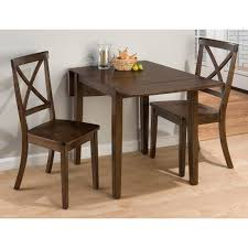space dining table solutions amazing home design: jofran taylor  piece small drop leaf dinette set dining table sets at hayneedle