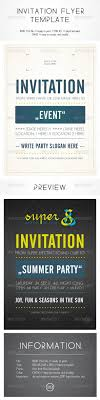 invitation flyer template fonts typography and flyer template invitation flyer template invitations card template indesign indd here