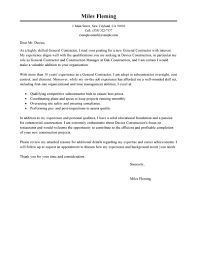 sample general cover letters com best general contractor cover letter examples livecareer
