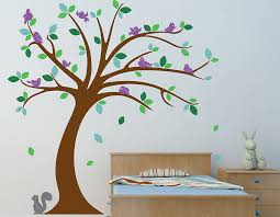 Small Picture Childrens Tree Wall Sticker Set Contemporary Wall Stickers