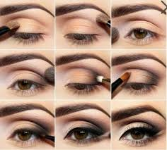 how to do a smokey eye makeup for brown eyes