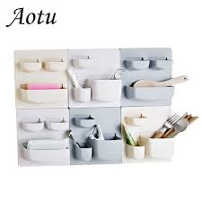 <b>Three Layer Wall Mounted Storage Rack</b> for Kitchen Living Room ...