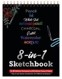 <b>8-in-1</b> Sketchbook