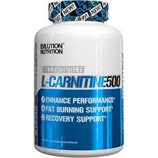 EVLUTION NUTRITION <b>L</b>-<b>Carnitine 500</b>, 60 Capsules (60 Servings ...
