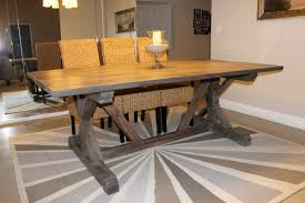 Farm Table Dining Room Set Farmhouse Dining Table Plans All Old Homes