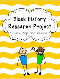 timeline  create a timeline and student on pinterestblack history project   students research a famous african american  write an essay  and