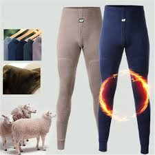 2018 <b>New thermal underwear</b> pants thick wear in very cold Winter ...