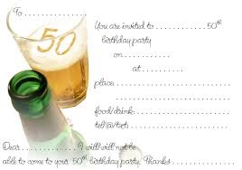 50th Birthday Invitation Templates Free Printable - Invitation ... 50th Birthday Invitation Templates Free Printable 50 Free Birthday Invitation Templates You Will Love These