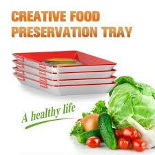 <b>NiftyTray</b> Food Storage Container <b>4pcs Creative</b> Healthy Food ...