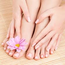 Image result for french pedicure