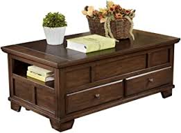 Coffee Tables - 2 Drawer / Coffee Tables / Tables ... - Amazon.com