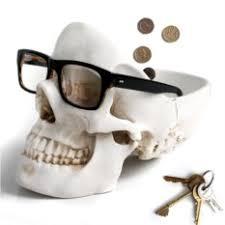 Белый <b>органайзер для мелочей Skull</b> | Настольные наборы ...