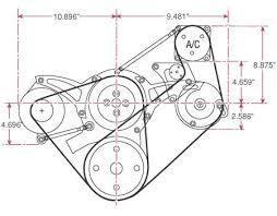 ford 289 302 351w ultra serpentine drive kits jegs