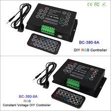 3CH Led RGB strip Controller <b>DC12V 24V 6A</b>*3CH / <b>8A*3CH</b> CV ...