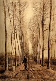 avenue of poplars vincent van gogh org avenue of poplars 1884 vincent van gogh