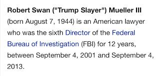 ���Robert Swan Mueller III������������������������