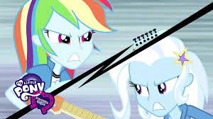 My Little Pony: <b>Equestria Girls</b>: Rainbow Rocks - 'Guitar Centered' ft ...