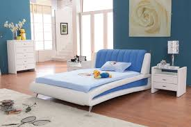 inspiring trendy design bedroom interior blue white contemporary bedroom interior modern