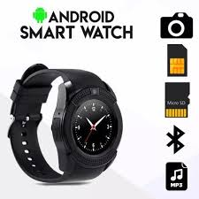 Generic <b>V8 Bluetooth</b> TF Card Slot <b>Touch Screen</b> Wrist Watch ...