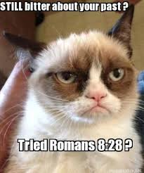 Meme Maker - STILL bitter about your past ? Tried Romans 8:28 ... via Relatably.com