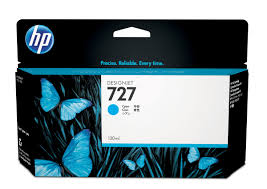 <b>Картридж</b> HP 727 с <b>голубыми чернилами</b>, 130 мл (B3P19A)