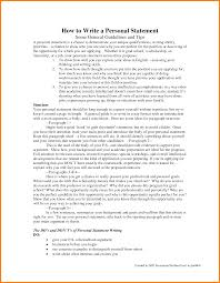 personal statement letter sample case statement  8 personal statement letter sample
