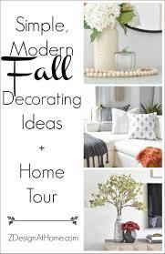 <b>Simple</b>, <b>Modern</b> Fall Decorating Ideas   ZDesign At Home
