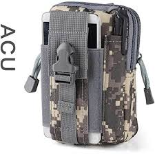 <b>Tactical</b> Small Phone Waist Bag <b>Outdoor Camping</b> Hiking Sports ...
