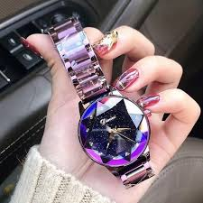 <b>Luxury Brand Ladies Crystal</b> Fashion Watch - Rose Gold Quartz