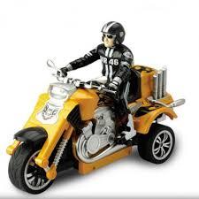 <b>Радиоуправляемый мотоцикл Yuan Di</b> Трицикл YD898-T58 1:10 ...