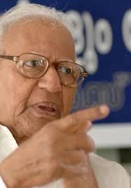 Former Supreme Court judge V. R. Krishna Iyer. Photo: H. Vibhu - krishna_iyer_259803e