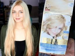 <b>L'Oreal Paris</b> Excellence Pure Blonde Hair Dye - YouTube