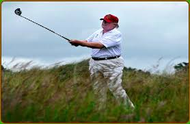 Image result for golfing trump + images