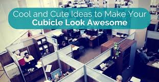 ideas to make cubicle awesome awesome cute cubicle decorating ideas cute