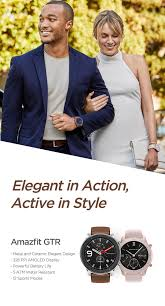 <b>Amazfit GTR</b> | Elegant in Action, Active in Style - Amazfit