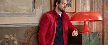 <b>Men's casual leather</b> jackets   La Martina
