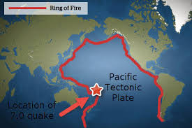 Image result for pacific ring of fire