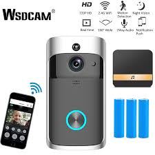 <b>Doorbells Smart Wifi Doorbell</b> Wireless Night Vision Camera Home ...