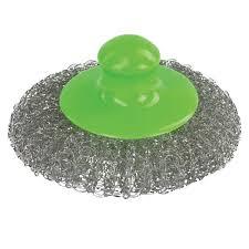 <b>Губка</b> (<b>мочалка</b>) для посуды металлическая <b>Лайма</b>, сетчатая, с ...