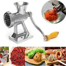 <b>Hand</b> Operated Kitchen <b>Manual Meat Grinder</b> Beef Noodle Pasta ...