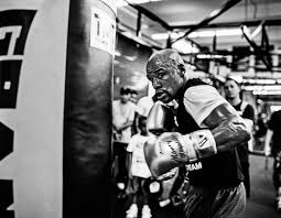 money morals and the fight of the century the new yorker floyd weather trains at his gym in las vegas it s my job