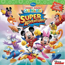 <b>Super</b> Adventure! - (<b>Disney Mickey</b> Mouse Clubhouse) By Bill Scollon