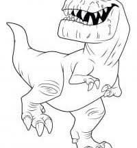 <b>Раскраски Динозавры</b> - Распечатать бесплатно