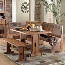 table bench chairs dining room rustic small breakfast nook table set and chairs with bench seat breakfast furniture sets
