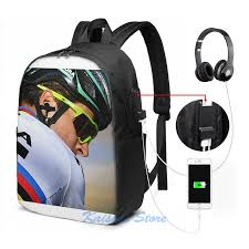 Funny Graphic print Peter Sagan USB Charge <b>Backpack</b> men ...