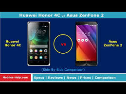 Huawei Honor 4C vs Asus ZenFone 2 (Side-By-Side Comparison ...