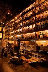 rickhouse whiskey barsan francisco bar lighting design